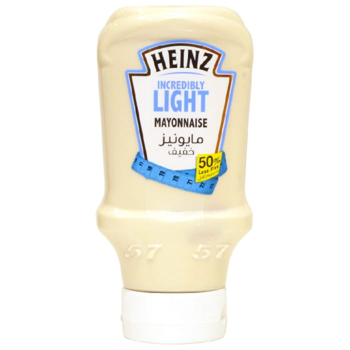 Heinz Incredibly Light Mayonnaise 50% Less Fat 400ml