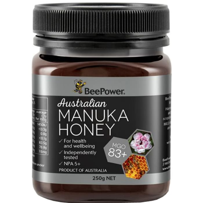BeePower Australian Manuka Honey MGO 83+ 250g