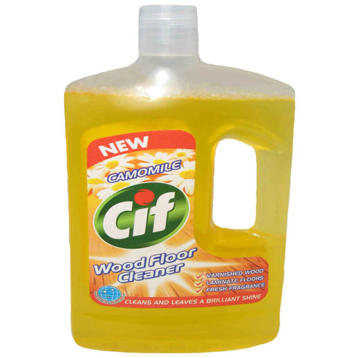 Cif Wood Floor Cleaner Camomile