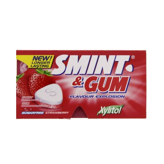 Smint Gum Strawberry