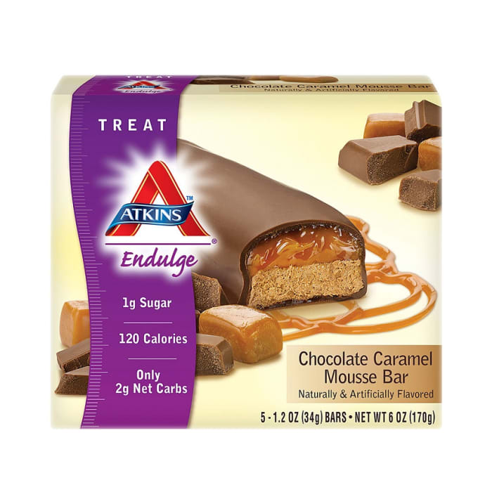 Atkins Endulge Chocolate Caramel Mousse Bar