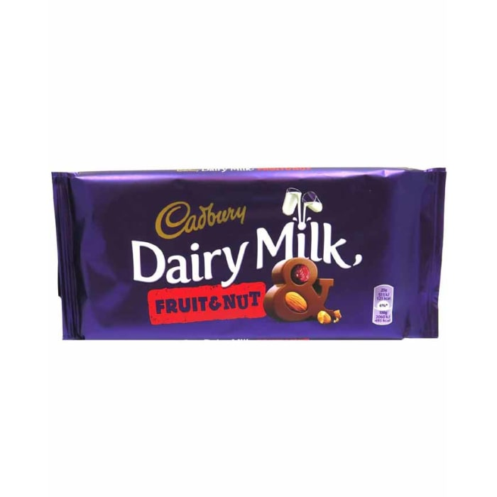 Cadbury  Dairy Milk Fruit & Nut Chocolate
