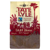 Tate Lyle Dark Brown Soft Sugar