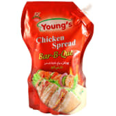 Young's Chicken Spread BBQ Pouch