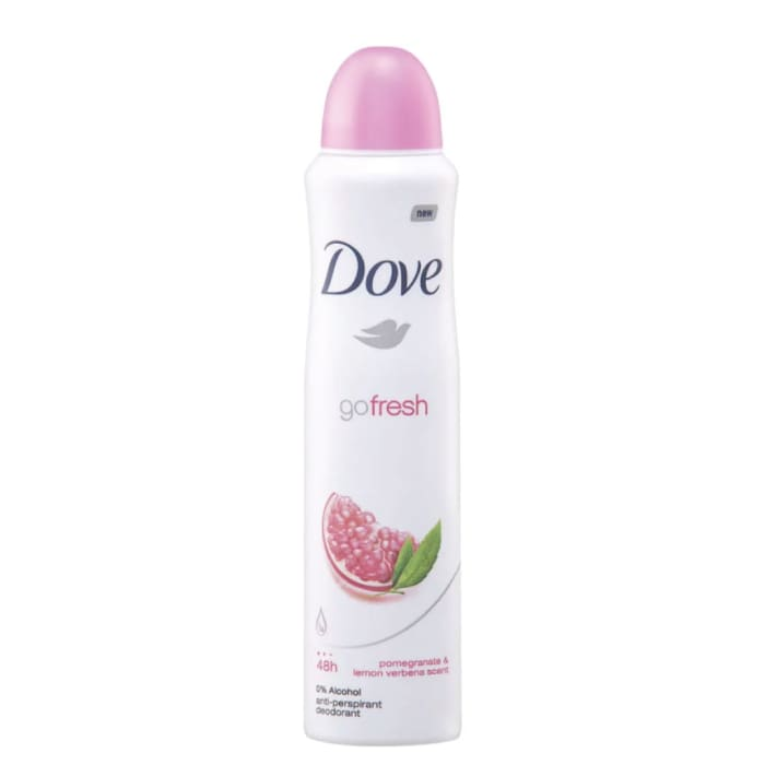 Dove Go Fresh Pomegranate Spray Anti-Perspirant Deodorant