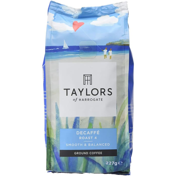 Taylors of Harrogate Decaffé Ground Coffee 227g
