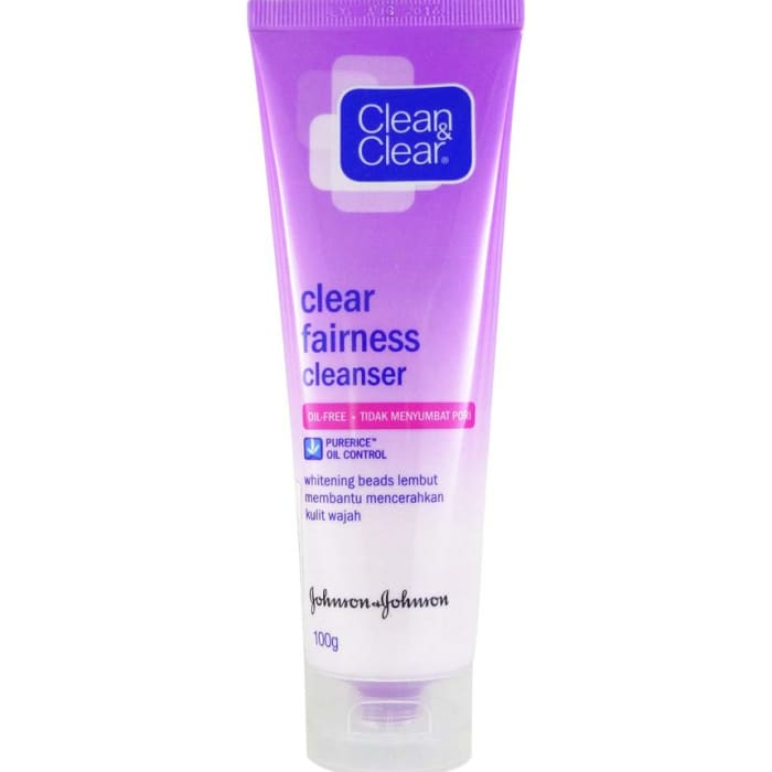 Clean&Clear Fairness Cleanser