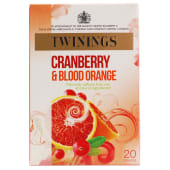Twinings Tea Fresh & Fruity Cranberry & Orange