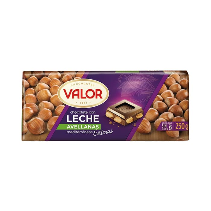 Valor Milk Chocolate Con Leche