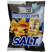 Wanted Tortilla Chips Salted 225 Grams