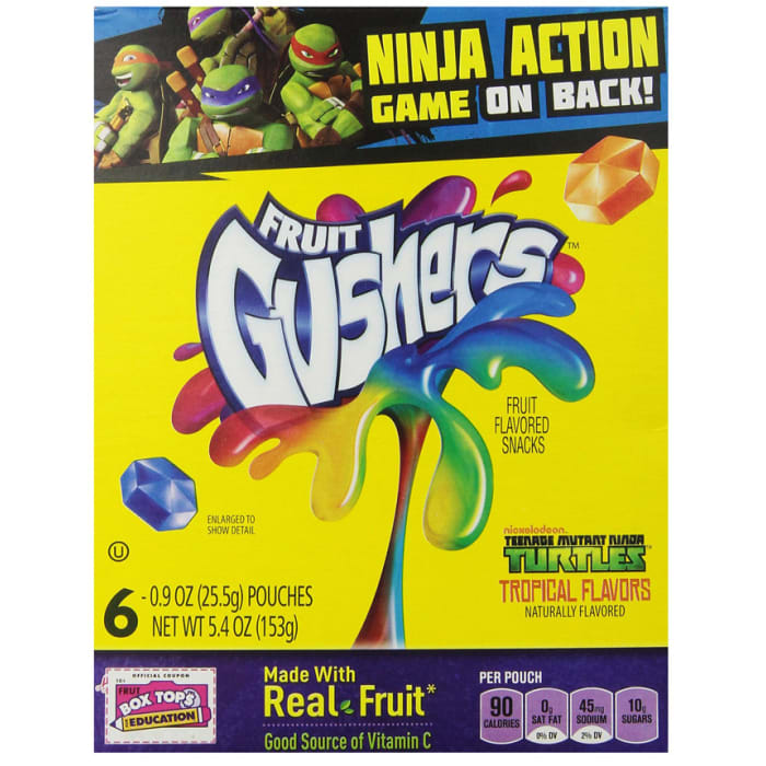 Betty Crocker Fruit Gushers Tropical