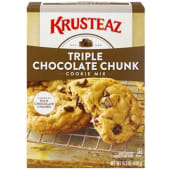 Krusteaz Bakery Style Triple Chocolate Chunk Cookie Mix 439g