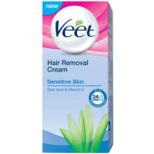 Veet Hair Removal Cream with Aloe Vera & Vitamin E for Sensitive Skin
