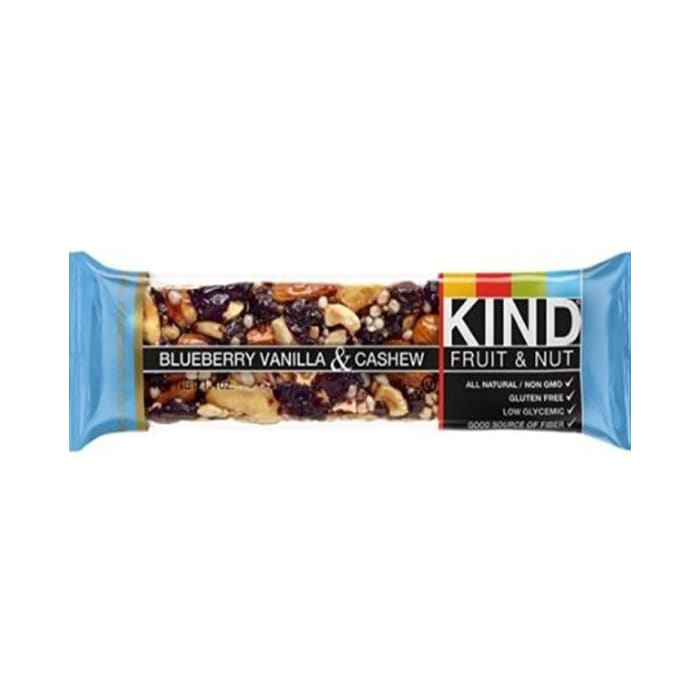Kind Blueberry Vanilla & Cashew, Gluten Free Bars