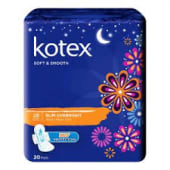 Kotex Soft & Smooth Overnight 28Cm Wing 14s