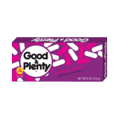 Good & Plenty Licorice Candy Video Box 170g