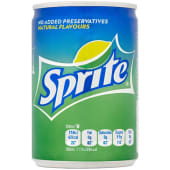 Sprite Lemon Lime Mini Soft Drink
