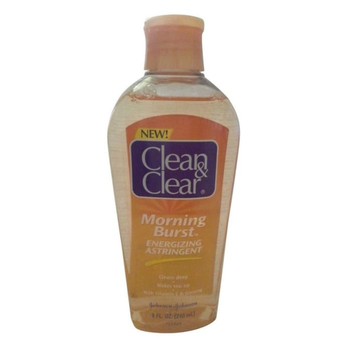 Clean & Clear Energizing Astringent Morning Burst