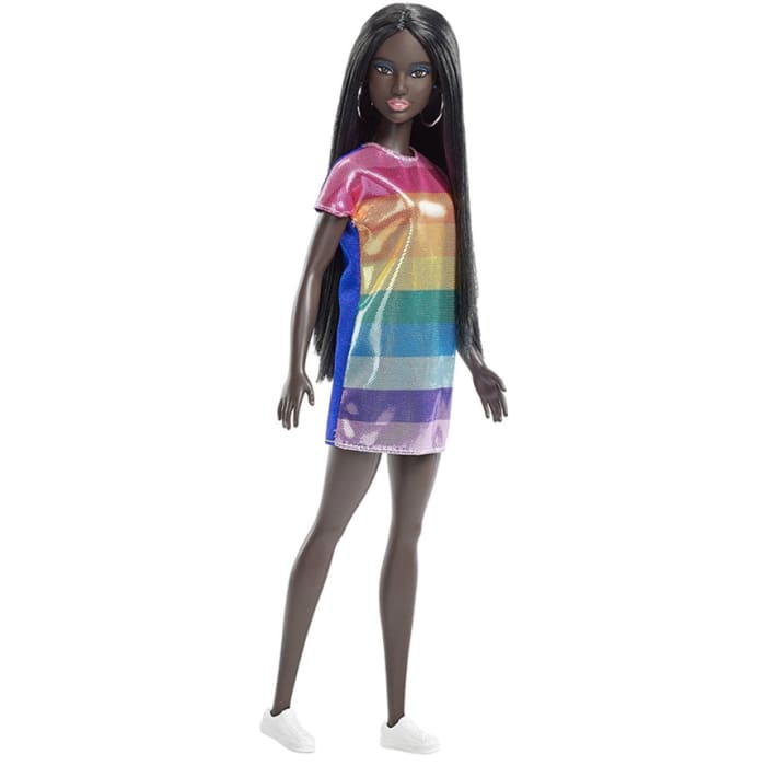 Barbie Fashionistas Rainbow Bright Doll FJF50