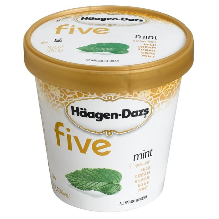 Haagen Dazs Ice Cream All Kind Mint