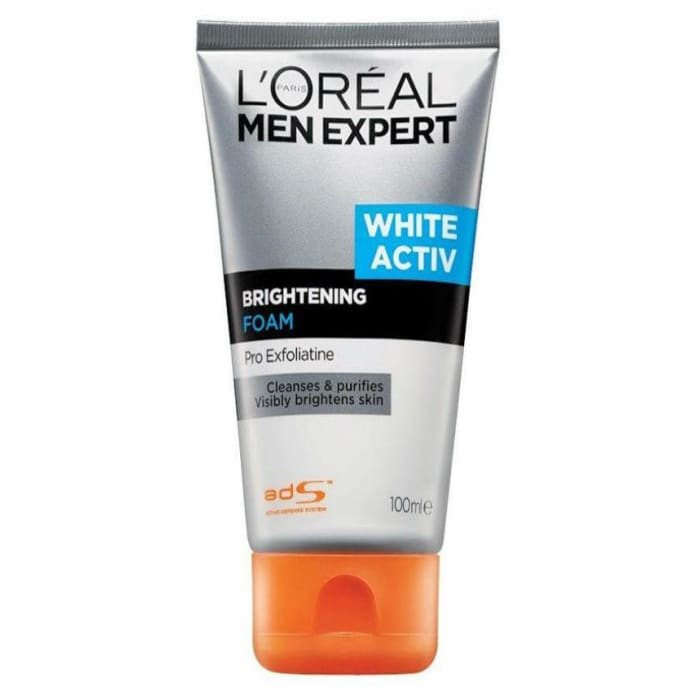 Loreal Men Expert White Active Brightening Cleansing Foam