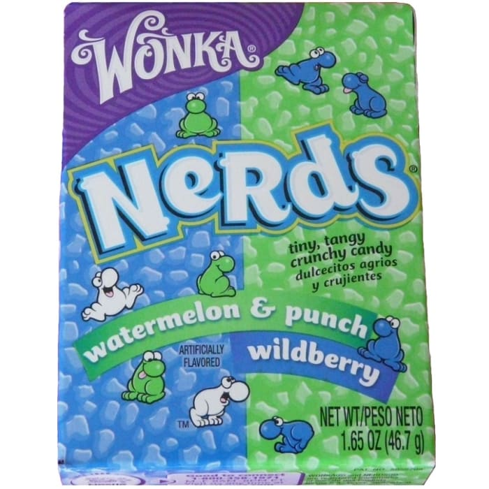 Wonka Nerds Wildberry & Watermelon Punch Candies
