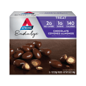 Atkins Endulge Treat Chocolate Covered Almonds 5 Pieces - 140 Grams
