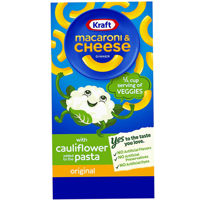 Kraft Macaroni & Cheese Cauliflower Original