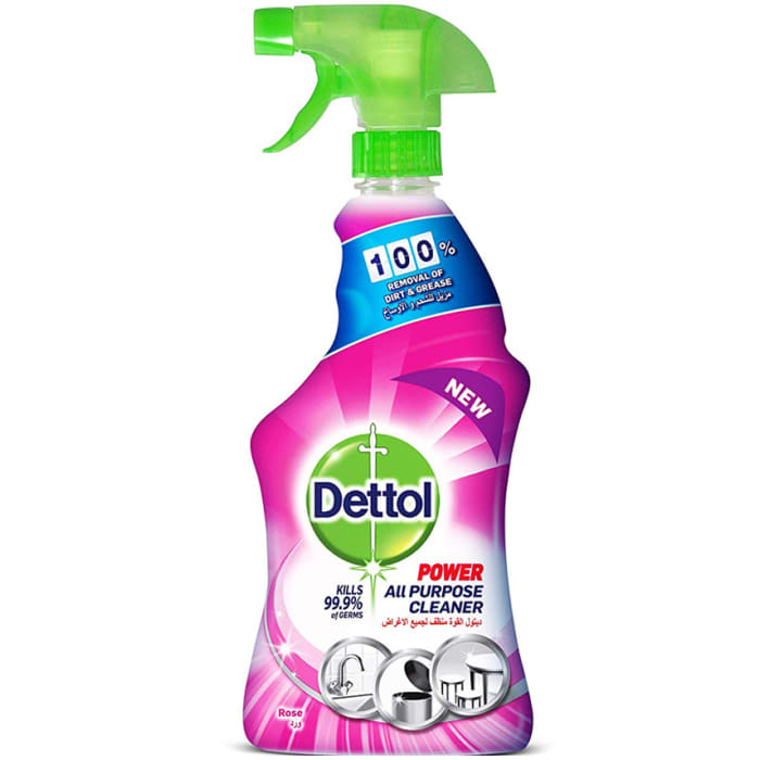 Dettol Healthy Home Rose All-Purpose Cleaner Trigger Spray 500ml