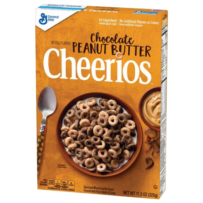 General Mills Cheerios Chocolate Peanut Butter Cereal