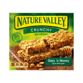 Nature Valley Crunchy Oats & Honey - 12 Bars (6 x 12)