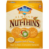 Blue Diamond Almond Nut Thins Snacks Pepper Jack Cheese 120g