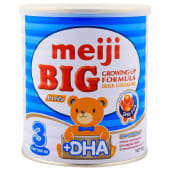 Meiji Big Growing Up Formula Vanilla Stage 3 From 1 Year Old 400 Grams