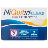NiQuitin Clear 14mg Patch 24 Hour Step 2 - 7 Patches