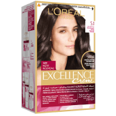 L'Oreal Paris Excellence Creme 5.1 Profound Light Brown Hair Color