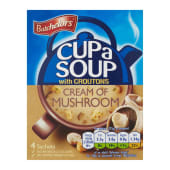 Batchelors  Cream Of Mushroom With Croutons
