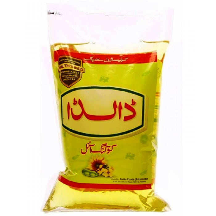 Dalda Cooking Oil Pouch 1 Litre