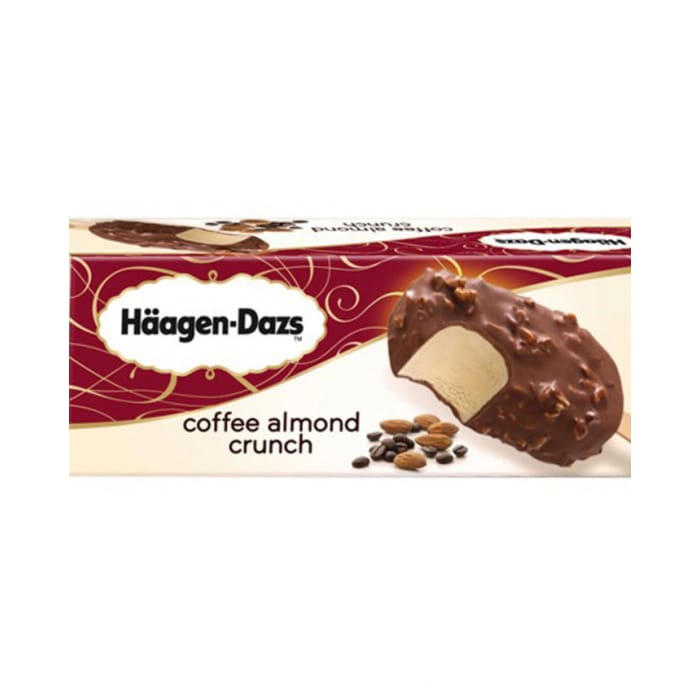 Haagen Dazs Coffee Almond Crunch Ice Cream
