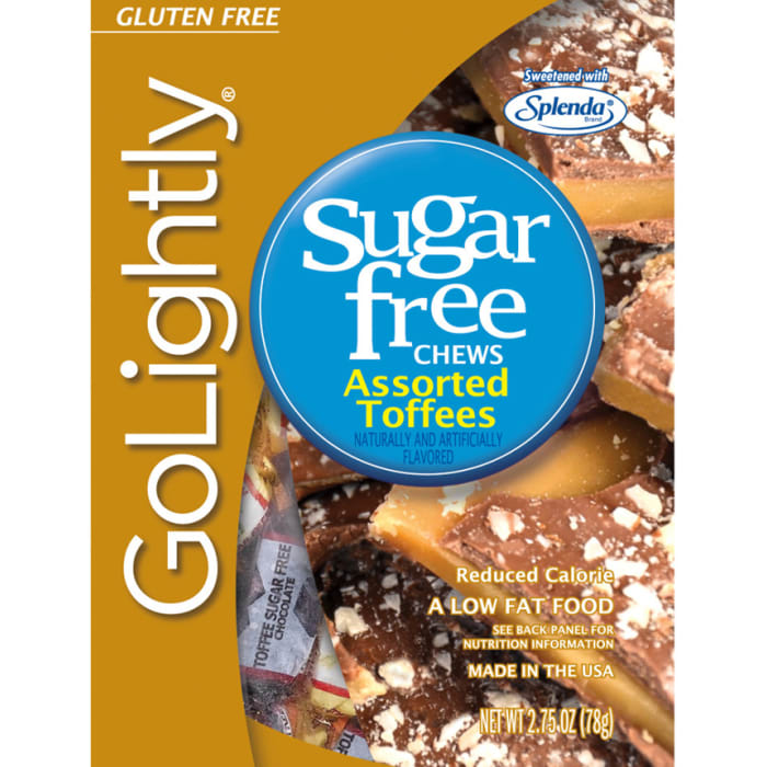 GoLightly Sugar Free Assorted Toffees