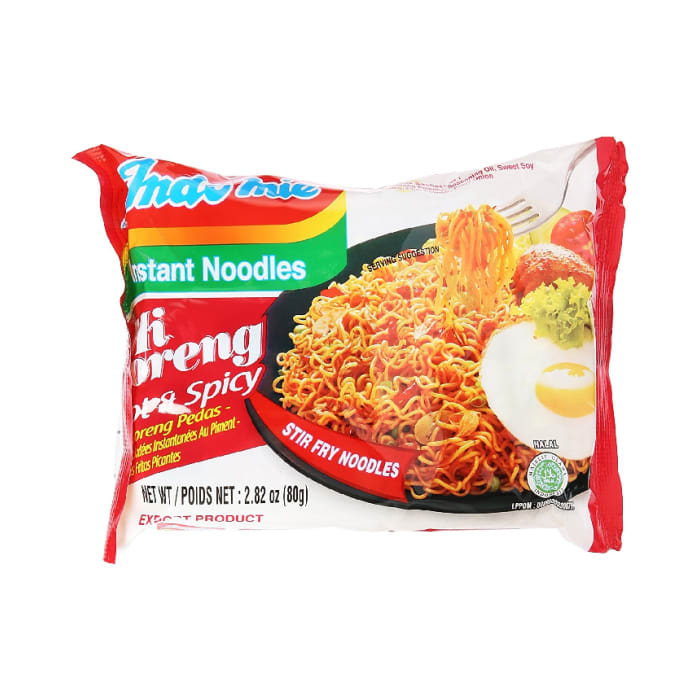 Indomie Hot & Spicy Instant Fried Noodles 80 Grams