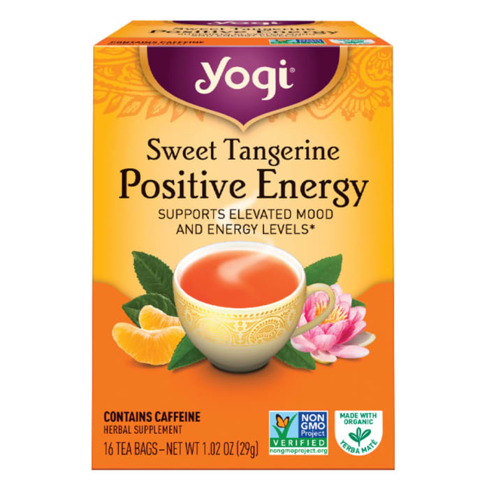Yogi Tea Sweet Tangerine Positive Energy
