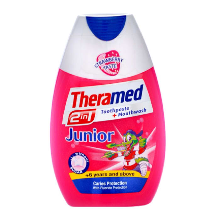 Theramed Toothpaste 2 In 1 Junior