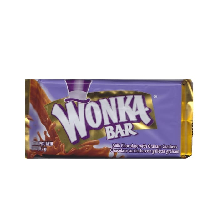 Wonka Chocolate Milk Graham Crakers Bar