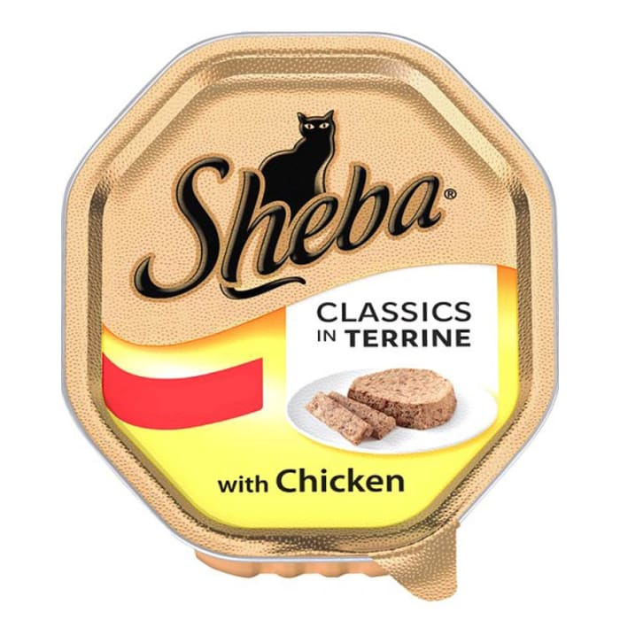 Sheba Classic in Terrine with Chicken Cat Food