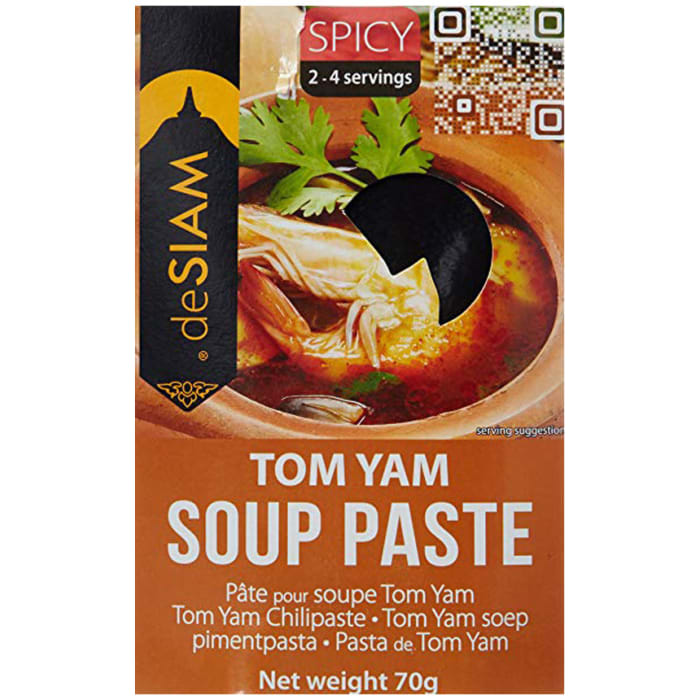 De Siam Tom Yum Soup Paste 70g