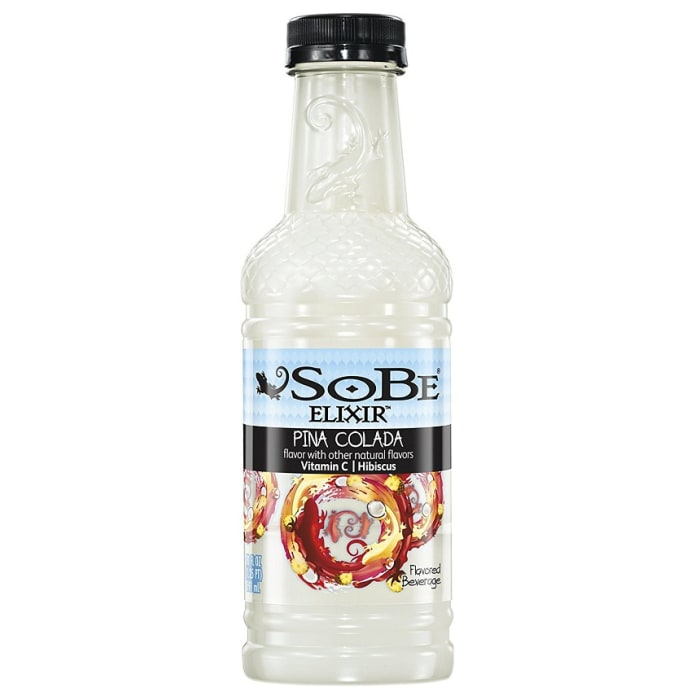 Sobe Energy Drink Bottle Pina Colada