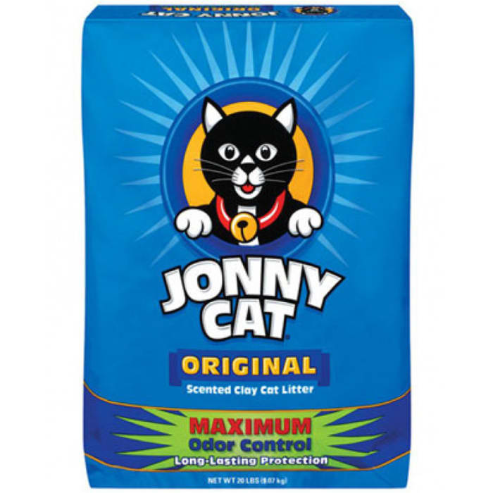 Jonny Cat Original Maximum Odor Control Scented Clay Cat Litter Bag