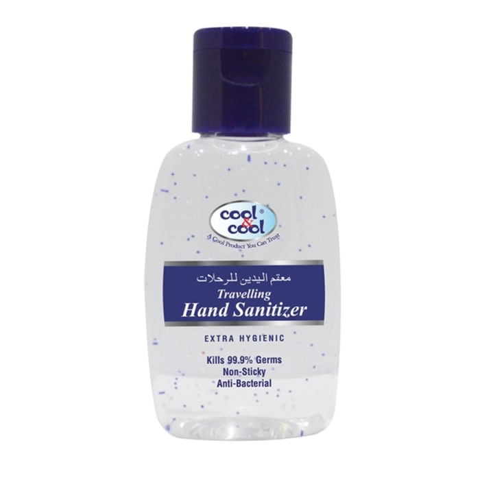 Cool & Cool Travelling Hand Sanitizer Gel