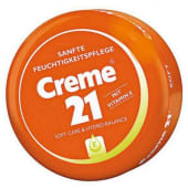 Cream 21 Face Cream Moisturizing 150ml