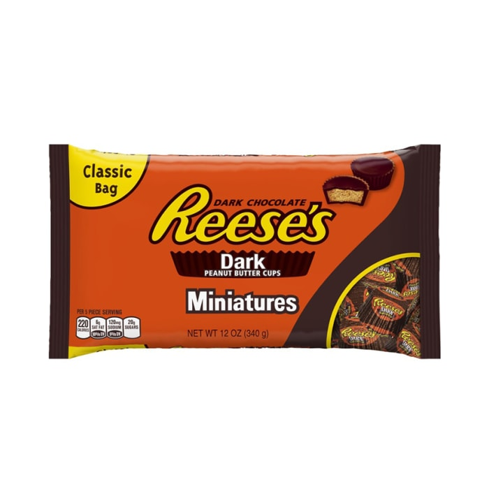 Resses Miniatures Peanut Butter Cup Classic Chocolate  Bag
